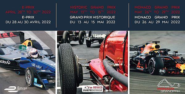 Header Dates Three Grand Prix Monaco 2022